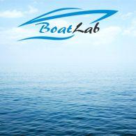 MB Living, Sailor Soul, Serveringsfade, Stabelbar (41-35x29-26cm), Hvid,Navy Blå - 2stk.