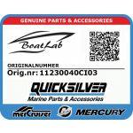 Quicksilver, BACKREST SEAT S-4 (Orig.nr: 11230040CI03)