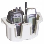 """Nuova Rade, """"Store All"""", Dobbelt holder (VHF/mobil), Plastik, Hvid - 1stk."""