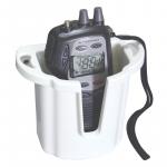 Nuova Rade, 'Store-All', VHF/mobil holder, Plastik, Hvid - 1stk.