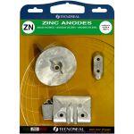 TecnoSeal, Anode kit, Yamaha Kit (40-50hp), Zink - 1 Sæt