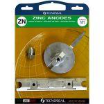 TecnoSeal, Anode kit, Yamaha Kit (80-100hp), Zink - 1 Sæt
