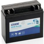 Exide, AGM 12-18, Startbatteri (18 Amp) - 1stk.