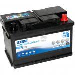 Exide, EK700 START-STOP AGM, Batteri (70 Amp) - 1stk.