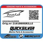 Quicksilver, GRILLE ONLY (Orig.nr: 2161860GRILLE)