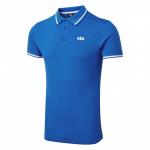 Gill, 4453 Helford, Polo t-shirt, Herre, Blå, Large - 1stk.