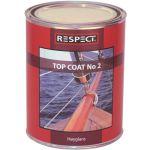 Respect, Olie, Top Coat No 2 (Hærdende), 500ml - 1stk.