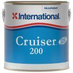 International, Bundmaling, Cruiser 200, Hvid, 2,5L - 1stk.