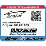 Quicksilver, 12311761869 Vbelt (Orig.nr: 801761869)
