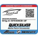 Quicksilver, CABLE C8 19' (Orig.nr: 875436C8-19')