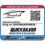 Quicksilver, UTT D55IB 3.0L GA (Orig.nr: D55IBGAS30RIG)
