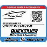 Quicksilver, D77 VERADO 350 SC (Orig.nr: D77V350SCH)