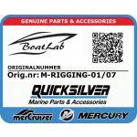 Quicksilver, RIGGING PT-850 (Orig.nr: M-RIGGING-01/07)