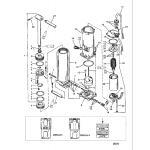 Power trim-long shaft (s/n-0c159200 thru 0d181999)