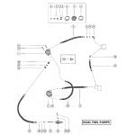 Fuel pump and fuel line assembly - dual fuel pumps