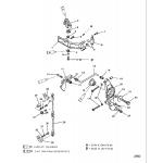 Anchor bracket(seapro/marathon) (s/n-0g303045 & below)