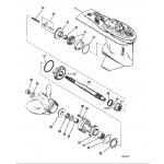 Gear housing (propeller shaft)
