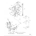 Anchor bracket(all models) (s/n-0g303046 & up)