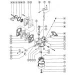 Carburetor assembly, complete