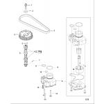 Camshaft/oil pump