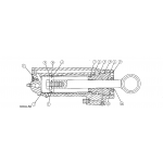 Power trim cylinder repair kits (76509a23 trim cylinder)