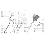 Carburetor choke linkage