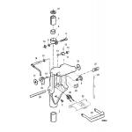Swivel bracket components
