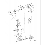 Throttle and shift linkage(mariner)(manual)