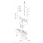 Extension kit-5 inch, driveshaft housing  12092a19
