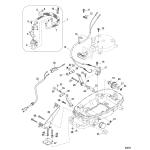 Conversion kit-remote control 4/5/6 fourstroke
