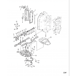 Exhaust manifold and exhaust plate