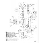 Gear housing, driveshaft-counter-sportmaster