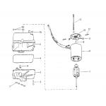 Hydraulic pump assembly (plastic reservoir)
