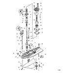 Gear housing, driveshaft - standard/counter rotation