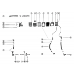 Fuel pump and fuel line assembly