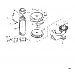 Flywheel/starter motor