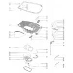 Bottom cowl and shift linkage