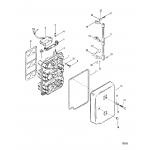 Choke plate and throttle levers(design ii)