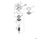 Power trim motor(use with design ii power trim system)