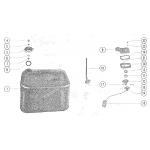 Fuel tank assembly (6 gallon)