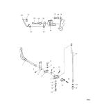 Throttle control/gear shift linkage