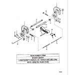Clamp bracket(short)(long-0c160935 & below)(60el noi)(npt)