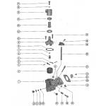 Carburetor assembly (thru serial no. 1526208)
