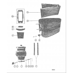 Cowling and front cover