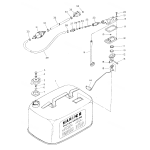 Fuel tank (u.s.a.)