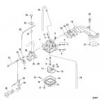 Carburetor, all models-serial # 0r318095 and below