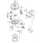 Flywheel magneto