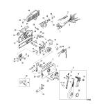 Remote control-4000 side mount(non power trim)