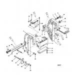 Clamp bracket (thumb screw design-s/n 0d181999 and below)