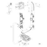 Air hoses(s/n 1e050628 & below)